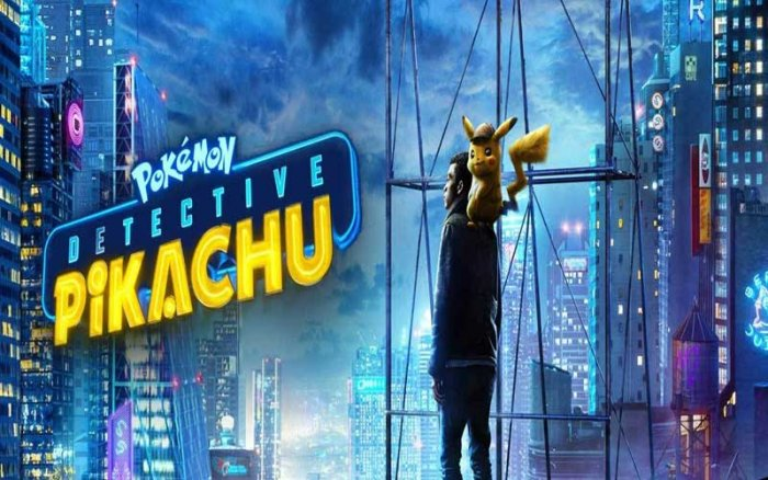 Pokemon Detective Pikachu 2019 Media Reject